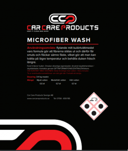 Car Care Products - Microfiber Wash Tvättmedel 1L