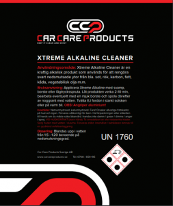 Car Care Products - Xtreme Alkaline Cleaner 25L