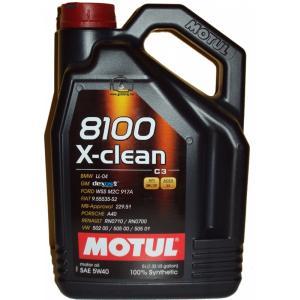 MOTUL - Motorolja 8100 X-Clean 5W40