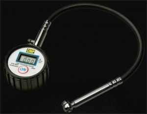 Däcktrycksmätare OMP, digital. Bar eller PSI