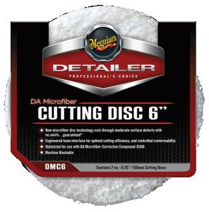 """DA Microfiber Cutting Pad 6"""" 2-pack"""