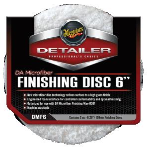 "DA Microfiber Finishing Pad 6"" 2-pack"