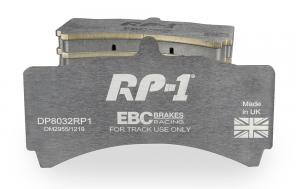 Bromsbelägg EBC RP-1 till D2 bromskit