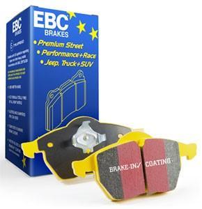 Bromsbelägg EBC Yellowstuff till D2 bromskit
