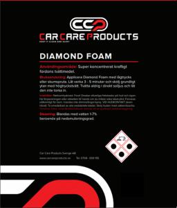 Car Care Products - Diamond Foam 1L