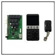 ECU kretskort + AFH fjärrkontroll + fjärrkontroll för 4 minneshöjder