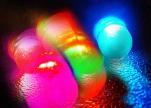 T10 Positionsljus diod [Rainbow Flashing]