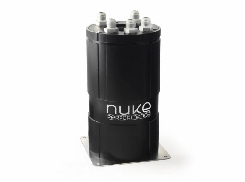 Catch tank /Fuel Surge Tank 3.0 liter for external fuel pumps - Nuke Performance