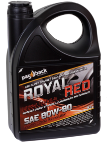 Royal red Växellådsolja - Pay Back 80W-90 1Liter Flaska