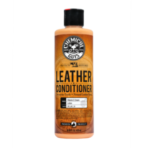 LEATHER CONDITIONER, CHEMICAL GUYS