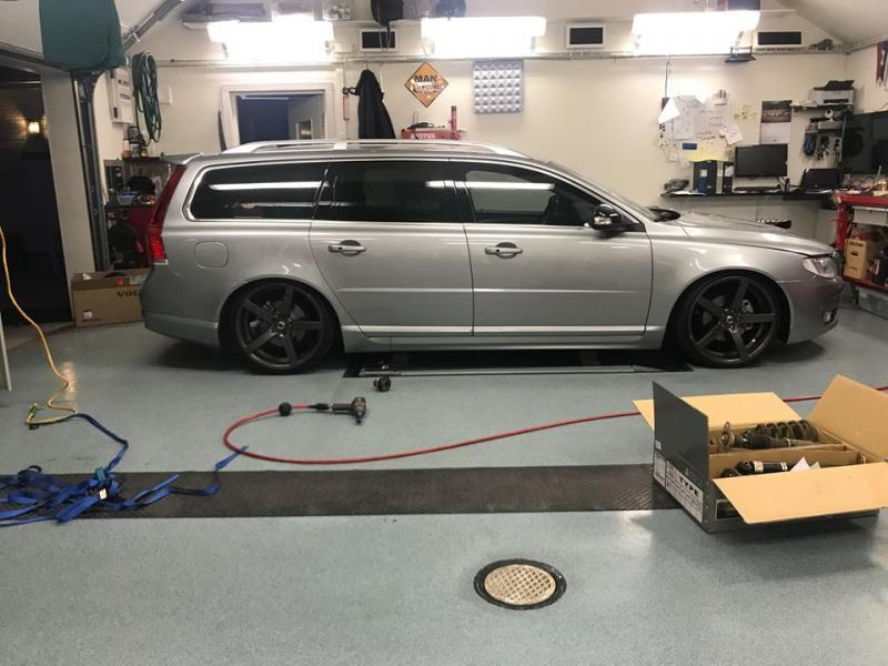 Coilovers D2 VOLVO V70 III 2WD/4WD (08~)