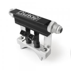 Bränslebrygga fuelrail för tilläggsspridare/Additional Injector Holder - Nuke Performance