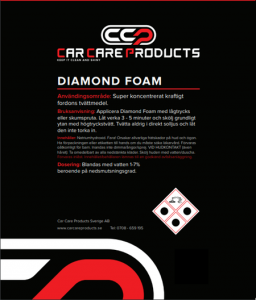 Car Care Products - Diamond Foam 5L