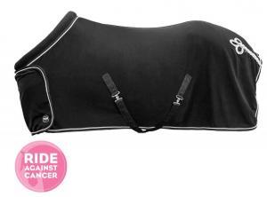 Ride Against Cancer Fleecetäcke med krage och fläta