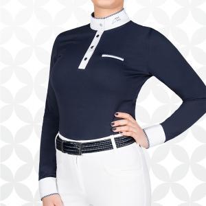 Equiline Gracielle damskjorta l.ä