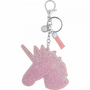 Nyckelring Unicorn Rosa