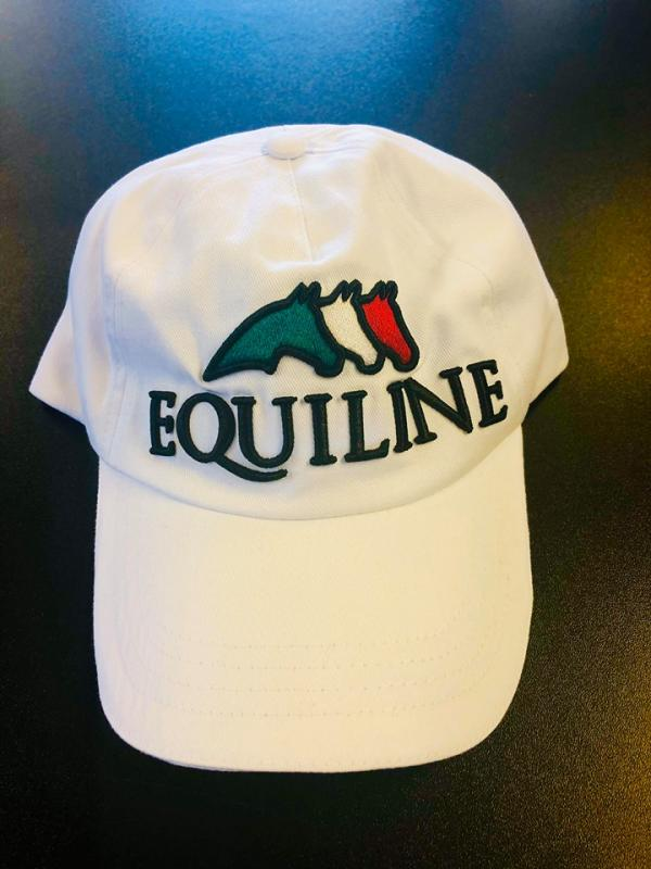 Equiline Keps vit team collection