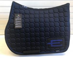 Equiline Octagon Hoppschabrak E-logga blåglitter - Marin