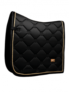 Equestrian Stockholm Dressyrschabrak Black Edition Gold