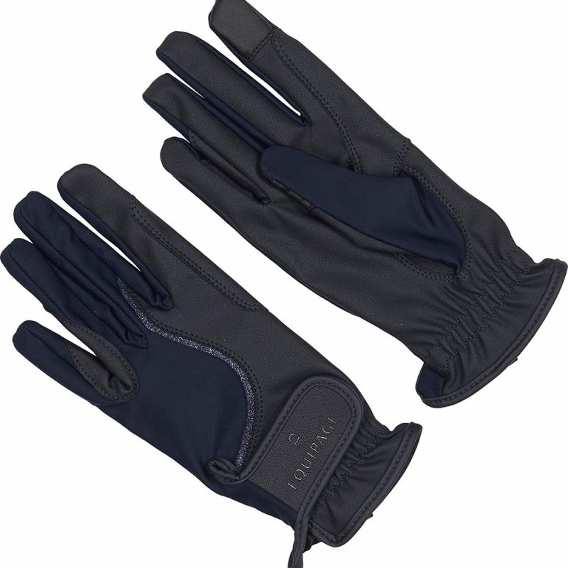 Equipage Fala Riding Gloves Marin