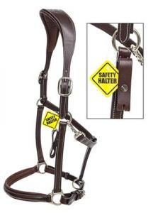 Equiline Safety lädergrimma
