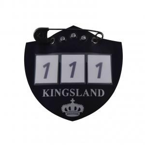 Kingsland nummerlapp till schabrak