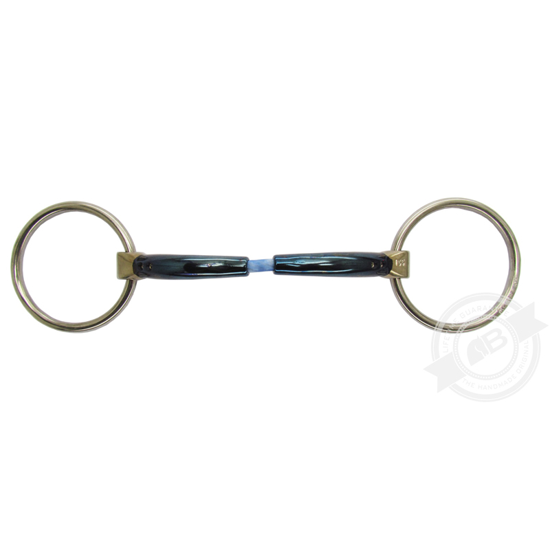 Bombers Loose ring, Snaffle Cable