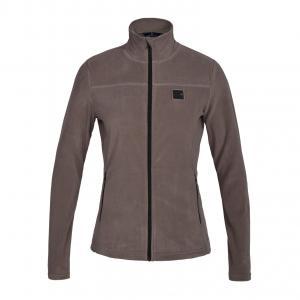 Kingsland KLMarina Ladies Micro Fleece Jacket Brown Driftwood