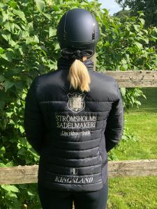 Kingsland Classic tunn jacka unisex med Strömsholms Sadelmakeri logga