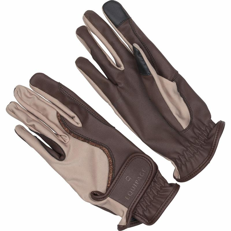 Equipage Fala Riding Gloves Brun/Sand
