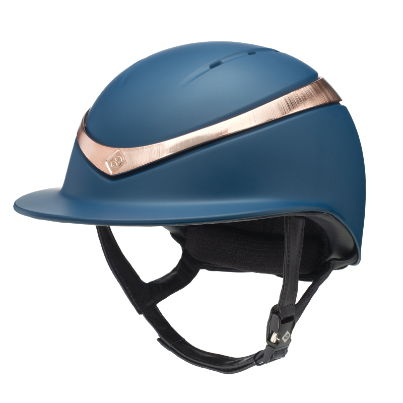 Charles Owen Halo Luxe Mips Marin/Rose Gold