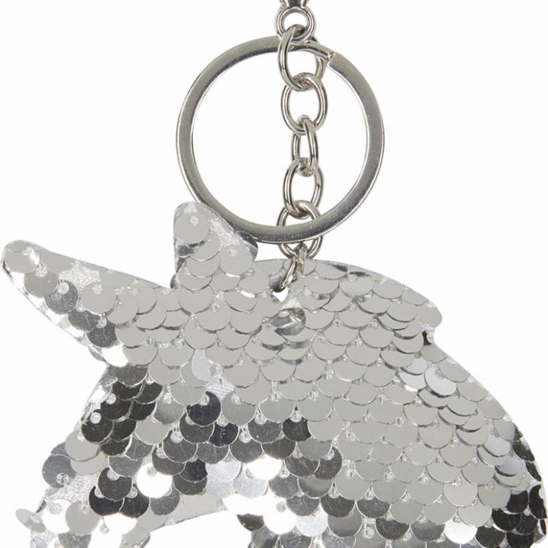 Nyckelring Unicorn Silver