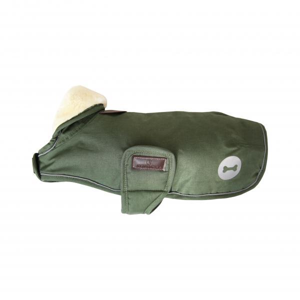 Kentucky Dog coat waterproofs - pine green