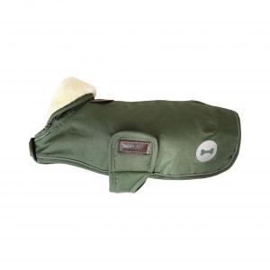 Dog coat waterproofs - pine green