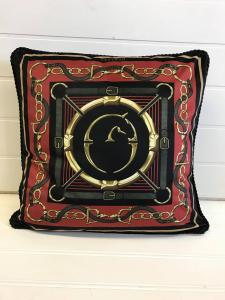 Vestrum Auronzo Pillow Bordeaux/Nero