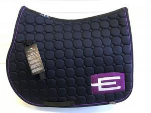Equiline Octagon Hoppschabrak Marin Lilaglitter E-logga