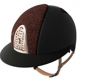 Kep Cromo Textile Polo - Black / Brown glitter