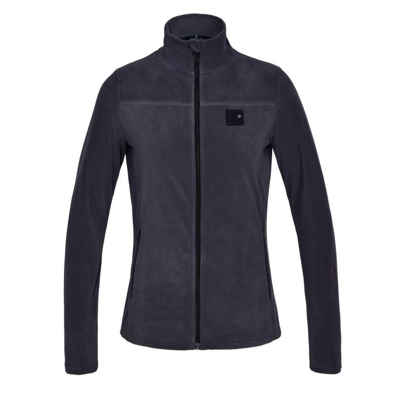 Kingsland KLMarina Ladies Micro Fleece Jacket Grey Asphalt