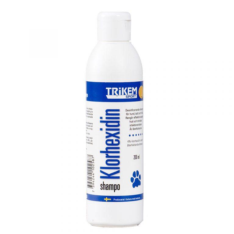 Trikem klorhexidinschampo 200 ml