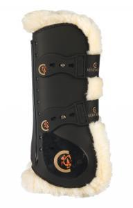 Kentucky Sheepskin Tendon Boots Elastic