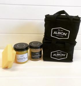 Albion lädervårdskit