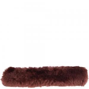 Nosludd i fårskinn med karborre 28cm