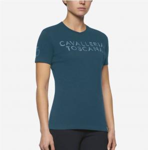 Cavalleria Toscana Embossed T-shirt Grön
