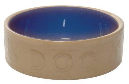 Hundmatskål i keramik
