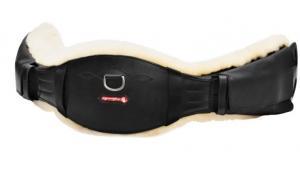 Equipe Dressyrsadelgjord med läderstomme & fårskinn (GH23)