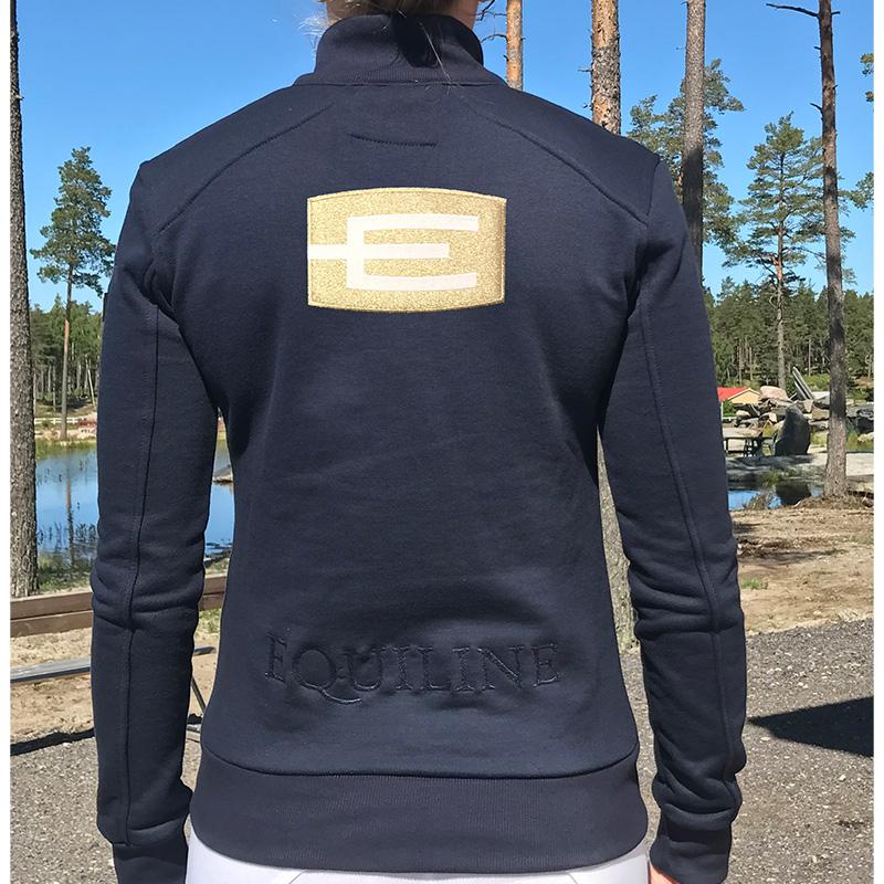Kart sweatshirt m E-logga
