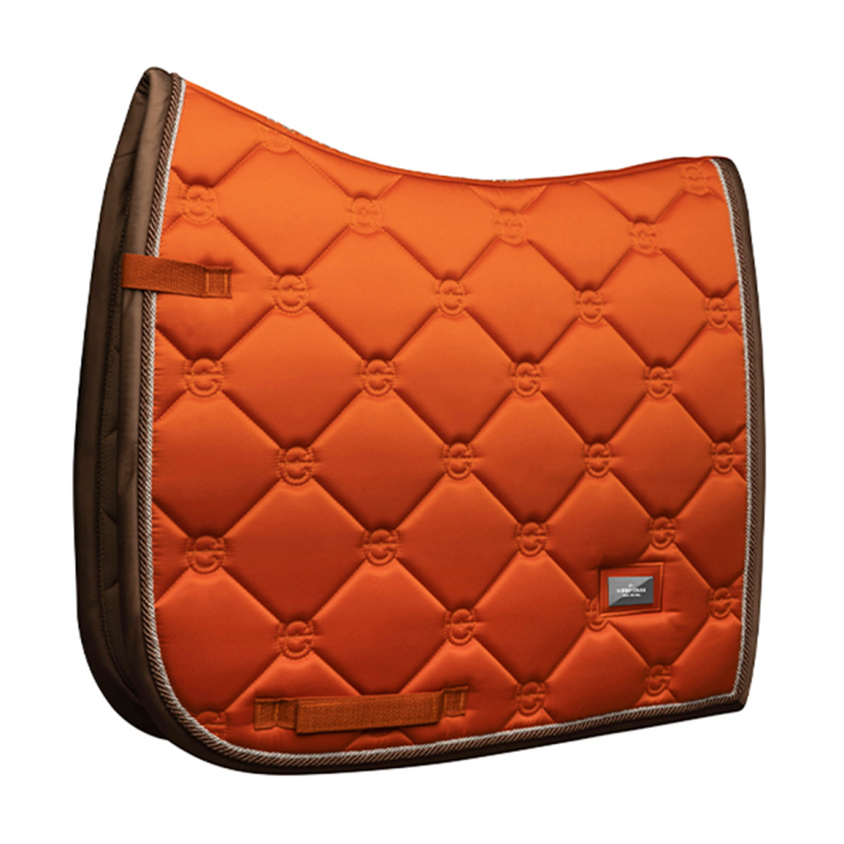 Equestrian Stockholm Dressyrschabrak Brick Orange