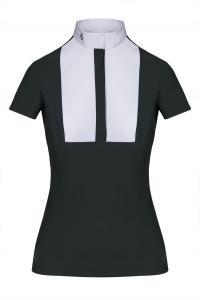 Cavalleria Toscana  - Embossed Stripe shirt med Bib