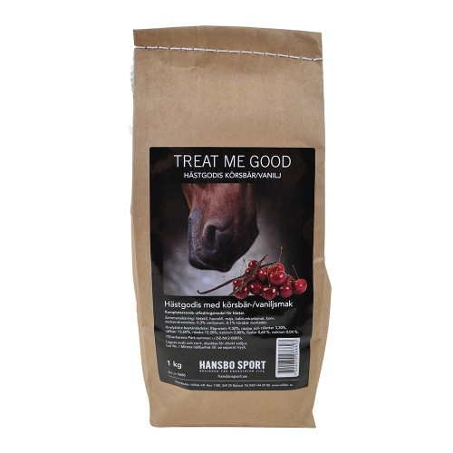Treat Me Good – Hästgodis Körsbär/Vanilj 1 kg