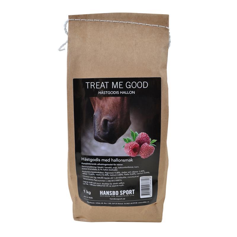Treat Me Good – Hästgodis Hallon 1 kg